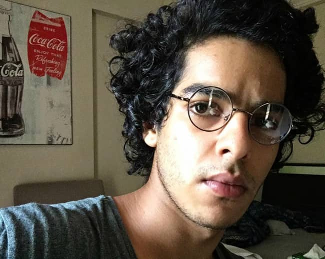 Ishaan Khatter in an Instagram selfie in October 2016