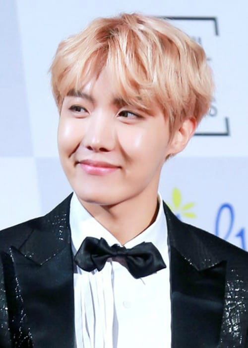 J-Hope at the 26th Seoul Music Awards on January 19, 2017