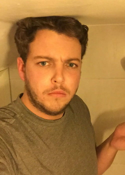 James Bennewith in an Instagram selfie in November 2016