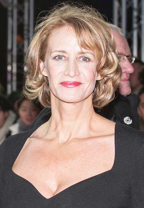 "Janet McTeer during the premiere of ""Angelica"" in 2015"