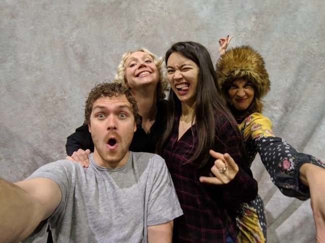 Jessica Henwick in a selfie with the cast of Game of Thrones as seen in November 2018