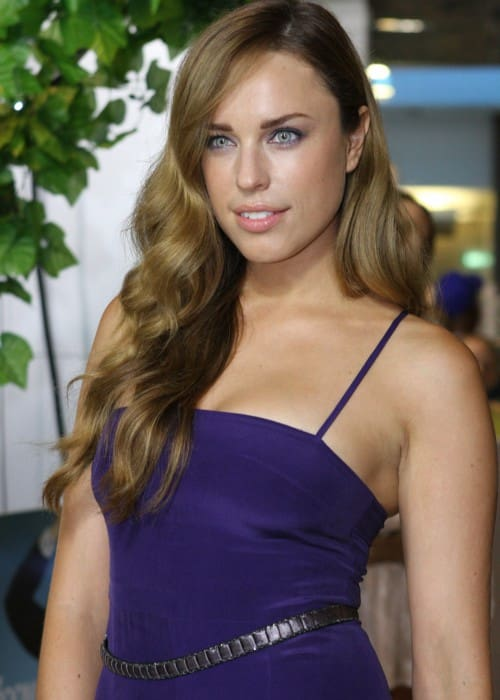 Jessica McNamee at A Few Best Men movie premiere in January 2012