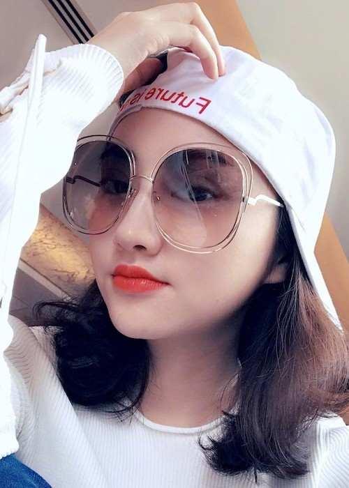 Jing Tian in an Instagram selfie in April 2017