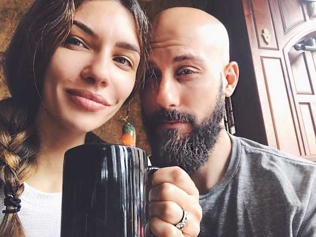 Juliana Harkavy and Peter Christopher Kupchick in May 2017