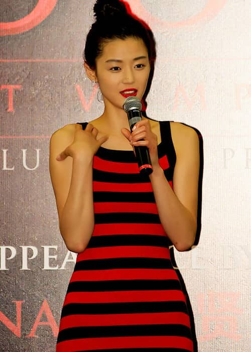 Jun Ji-hyun at a promotinal event for the film Blood The Last Vampire in 2009