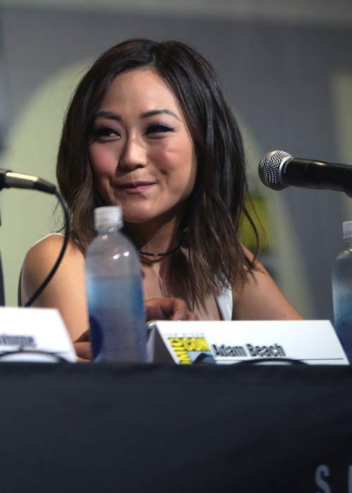 Karen Fukuhara at 2016 San Diego Comic-Con International