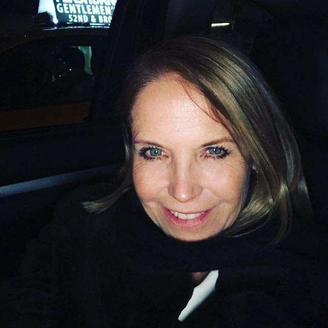 Katie Couric in an Instagram selfie in December 2017