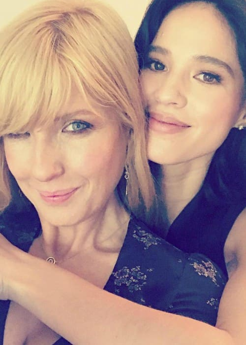 Kelly Reilly (Left) and Kelsey Asbille in an Instagram selfie in January 2018