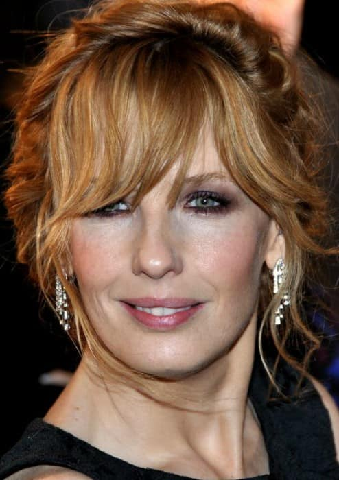 Kelly Reilly in Paris at the French premiere of Flight in January 2013