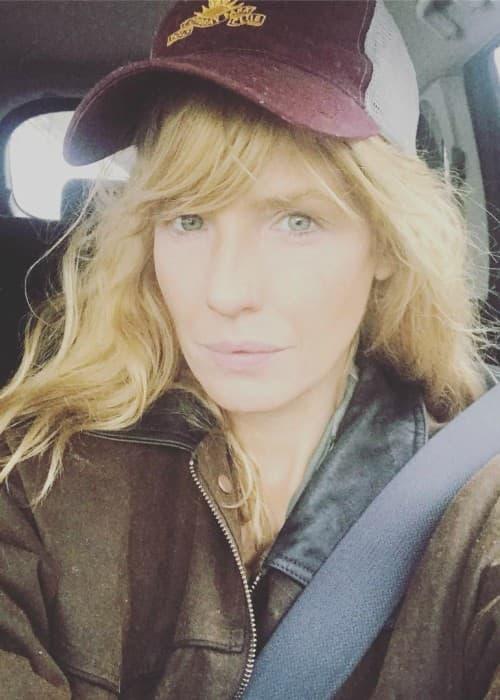 Kelly Reilly in an Instagram selfie as seen in December 2017