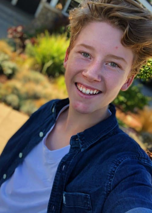 Ky Baldwin in an Instagram selfie as seen in November 2017