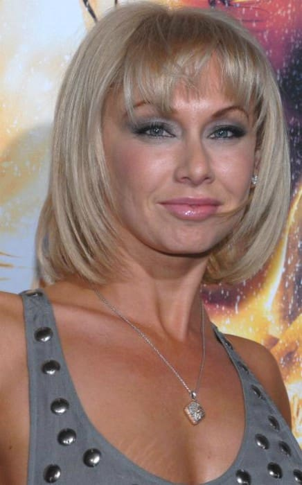 Kym Johnson at the premiere of the film Step Up 2 The Streets in February 2008