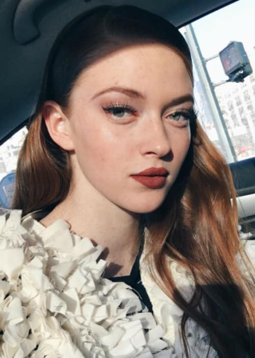 Larsen Thompson in an Instagram selfie as seen in February 2017