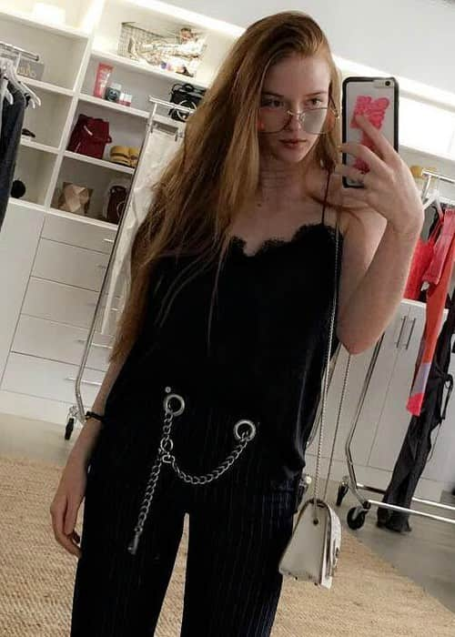 Larsen Thompson in an Instagram selfie in August 2017
