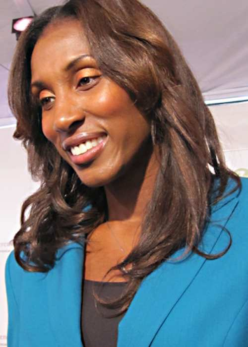 Lisa Leslie at the Women's Conference in 2010