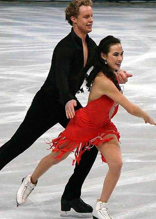 Madison Chock and Evan Bates as seen in November 2011