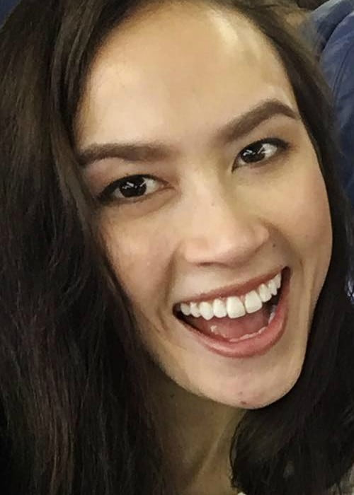 Madison Chock in an Instagram selfie as seen in February 2017