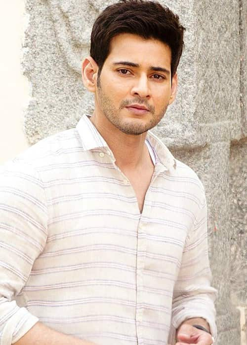 Mahesh Babu as seen in July 2017