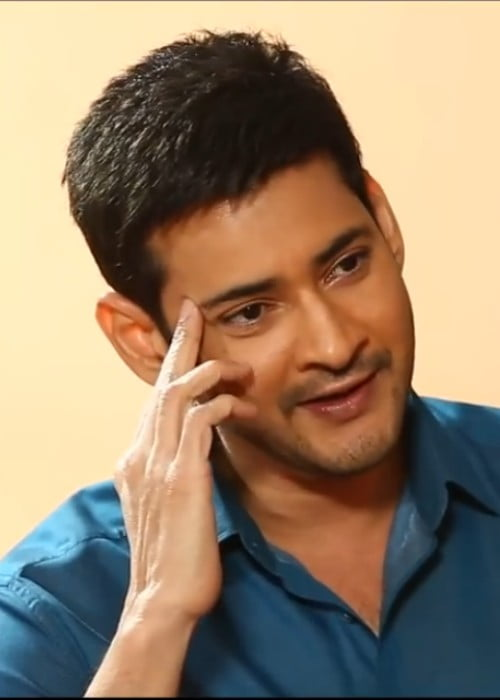 Mahesh Babu in a still from the interview with Anupama Chopra in September 2017