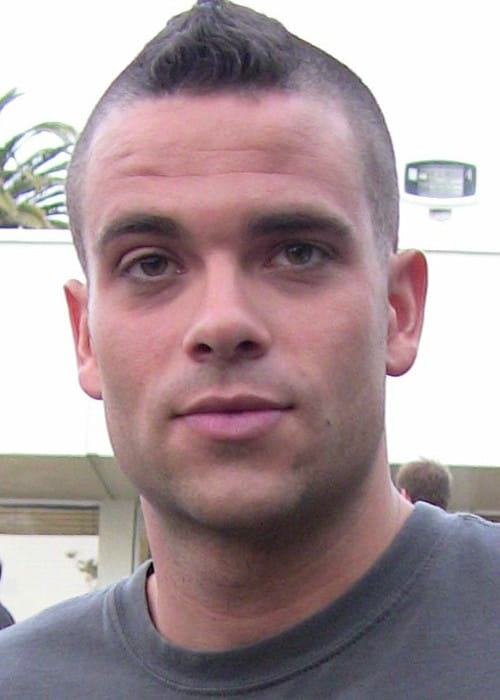 Mark Salling at the Glee Premiere Party in May 2009