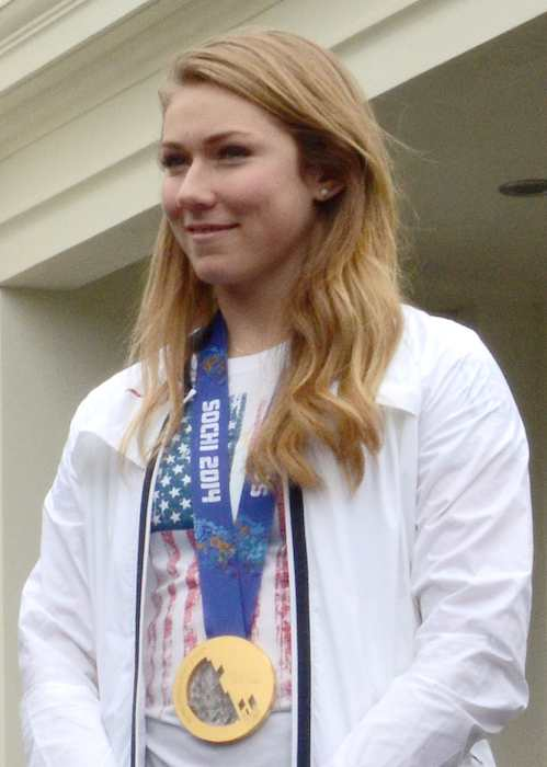 Mikaela Shiffrin at White House honors 2014 Olympic and Paralympic athletes