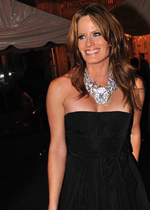 Monika Schnarre at 2010 Toronto International Film Festival party