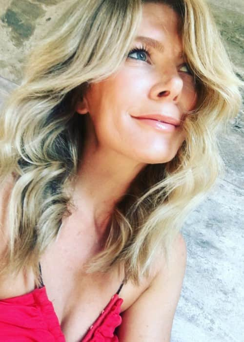 Natalie Bassingthwaighte in an Instagram selfie as seen in January 2018