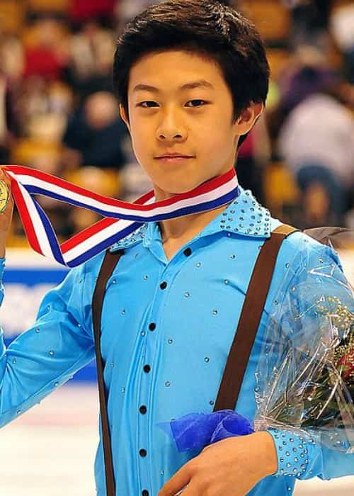 Nathan Chen at the 2014 U.S. Figure Skating Championships