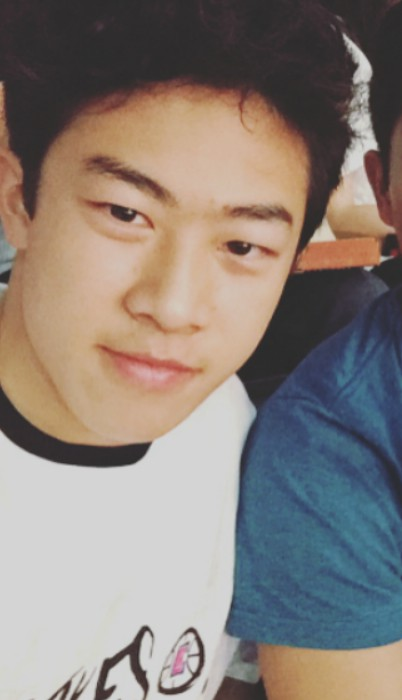 Nathan Chen in an Instagram selfie as seen in April 2017