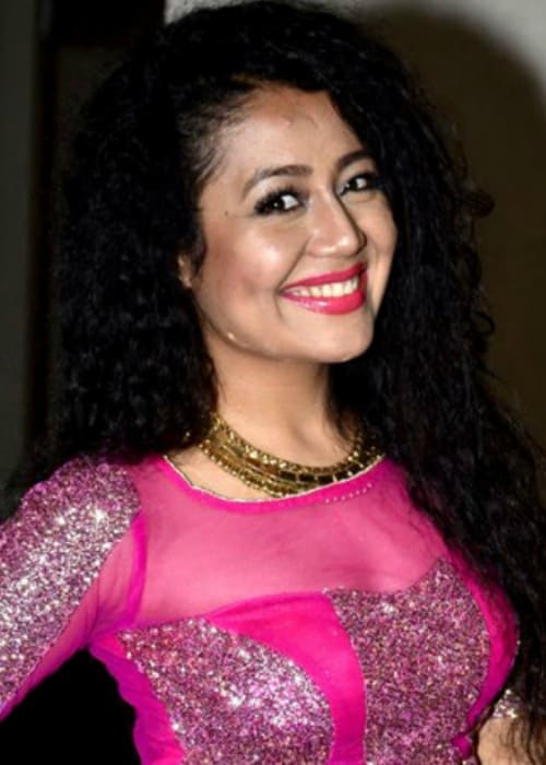 Neha Kakkar as seen in August 2016
