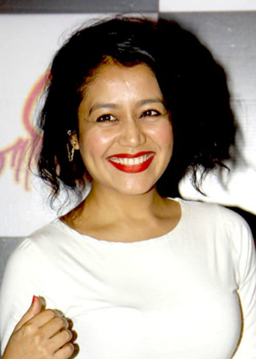 Neha Kakkar as seen in July 2015