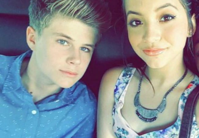 Owen Joyner and Isabela Moner in an Instagram selfie in June 2015