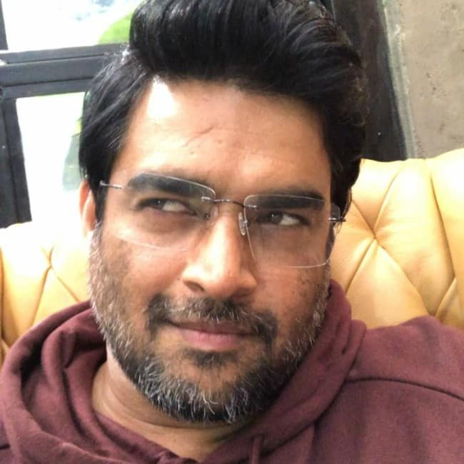 R. Madhavan in an Instagram selfie in November 2017