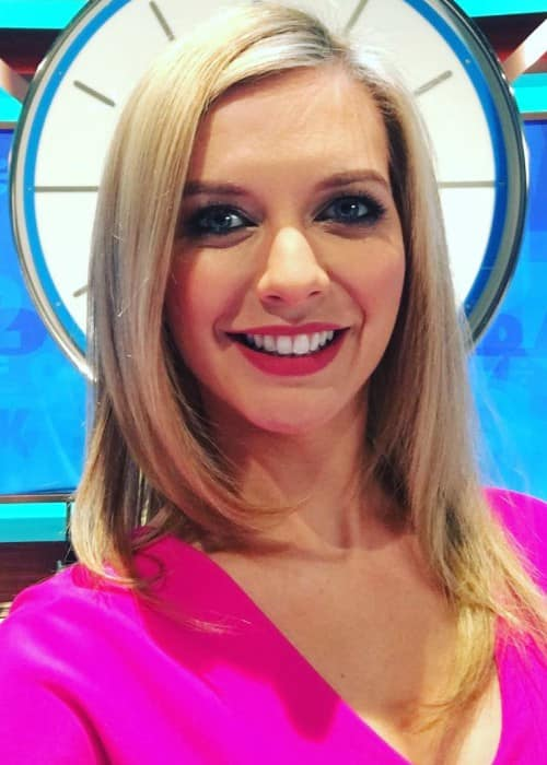 Rachel Riley in an Instagram selfie as seen in April 2017