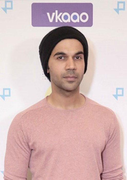 Rajkumar Rao at the premiere of Moonlight at the Jio MAMI Film Club in February 2017