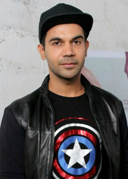 Rajkummar Rao at Eros International office in September 2017