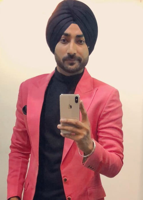 Ranjit Bawa in an Instagram selfie as seen in December 2017