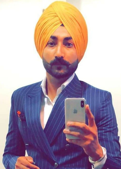 Ranjit Bawa in an Instagram selfie as seen in January 2018