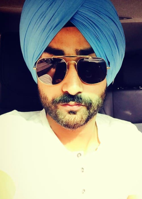 Ranjit Bawa in an Instagram selfie as seen in May 2017