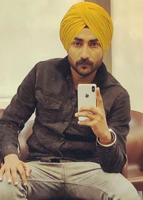 Ranjit Bawa in an Instagram selfie in January 2018