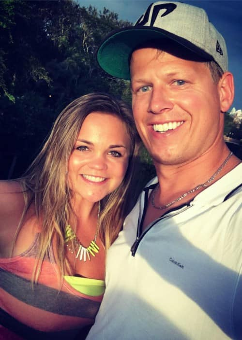 Rick Smith Jr. and Courtney Marchak in an Instagram selfie in November 2017