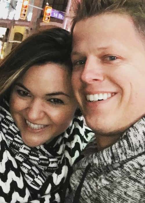 Rick Smith Jr. and Tiffany G. Smith in an Instagram selfie in January 2016