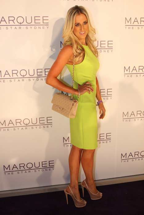 Roxy Jacenko at Paris Hilton Marquee The Star Sydney in 2012