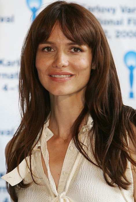 Saffron Burrows during 43rd Karlovy Vary International Film Festival