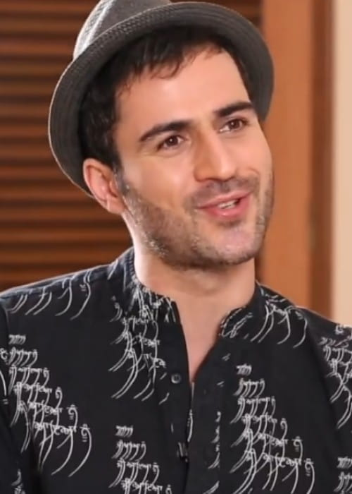 Sajjad Delafrooz in a still from the Bollywood Hungama interview in December 2017
