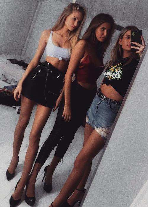 Scarlett Leithold, Charlotte Dalessio, and Isabella Jones (From Left)