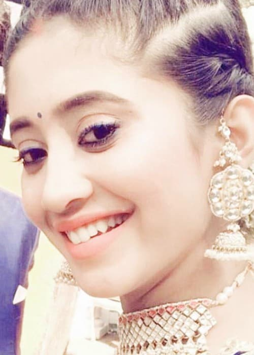 Shivangi Joshi in an Instagram selfie as seen in January 2018