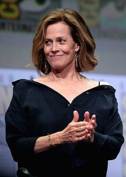 Sigourney Weaver at the 2017 Comic-Con International