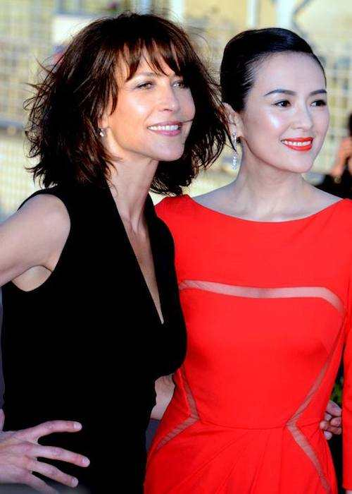 Sophie Marceau and Zhang Ziyi at the Cabourg Film Festival 2014