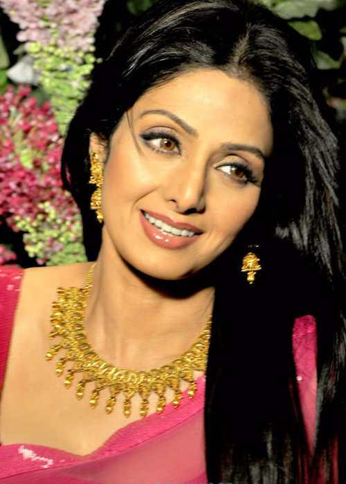 Sridevi at photoshoot for Tanishq Jewelry in 2013